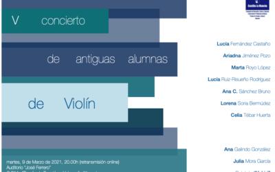 """""""V Concierto de antiguas alumnas de violín"""""""
